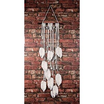 Macrame Wall Hanger Kit-feathers
