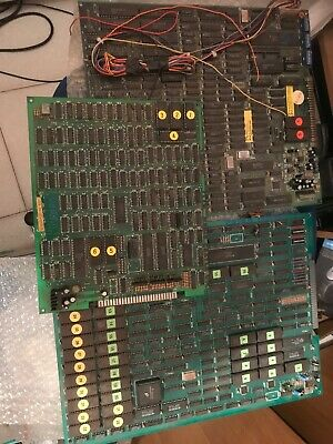 3 Pcb . Street Fighters 2 +power Instinct +Magic Castle . Not Work Jamma Pcb,