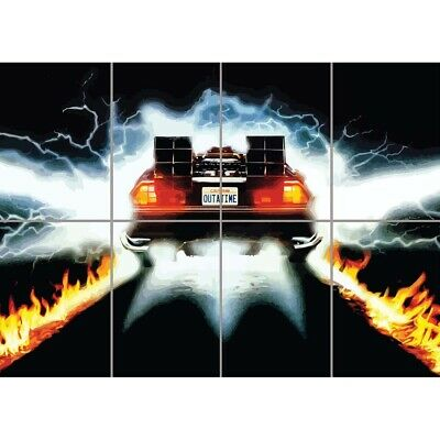 Back To The Future Cult Classic Movie Film Giant Wall Poster Print Art Mural
