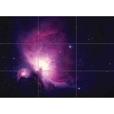 Photograph Cosmos Orion Nebula Space Universe Wall Art Panel Poster Print 50X35""
