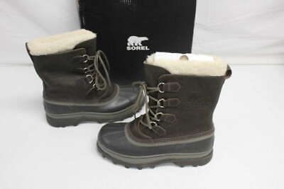695009b1040 SOREL CARIBOU WOOL Winter Waterproof Snow Boots Us11 Uk10.5 ...