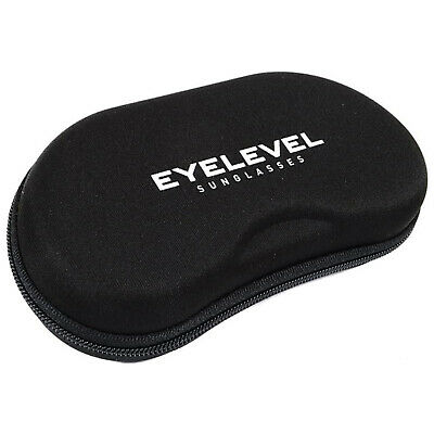 Eyelevel Sports Sunglasses Zip Case New Hard Carry Pouch Box Travel Bag Zipped