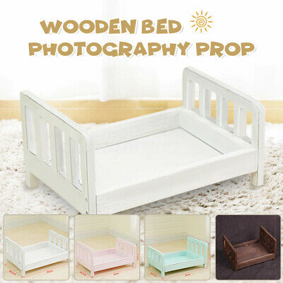 Newborn Baby Gift Wooden Seat Photography Photo Prop Infant Posing Shoot Aid