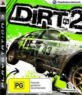 PS3 DiRT 2 (Sony PlayStation 3, 2009) [VGC] (Racing, Colin McRae)