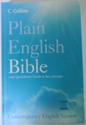 Book. Plain English Bible with Quickfinder Guide to key passages. Contemporary E