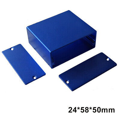 New Aluminum Box Enclosure Case Project electronic for PCB DIY 24*58*50/110mm