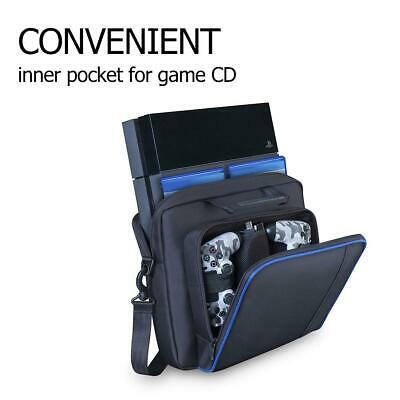 Zipper Shoulder Bag Carrying Case Backpack for PlayStation4 PS4 Pro Game Console
