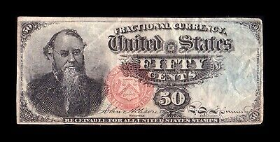 B-D-M Estados Unidos United States 50 Cents 1863 Pick 120 MBC+ VF+