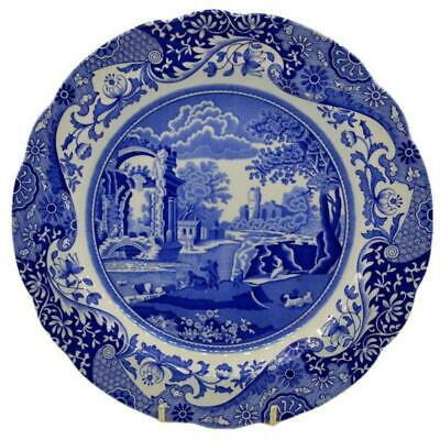 Spode Blue Italian dinner plate Spode Blue and White China 10.5 inch