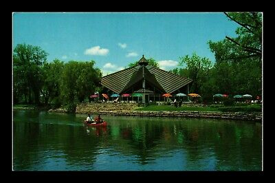 Dr Jim Stamps Canoeing Centre Island Lagoon Toronto Park Postcard Canada