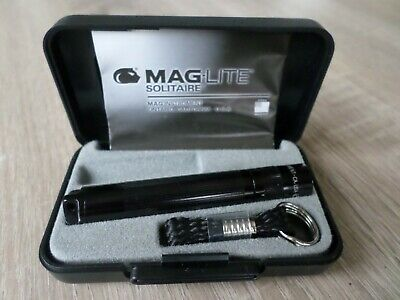 Mag-Lite Solitare Gadget Torch Keyring In Case - New