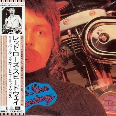 PAUL MCCARTNEY - RED ROSE SPEEDWAY ( MINI LP AUDIO CD with OBI )  FREE SHIPPING
