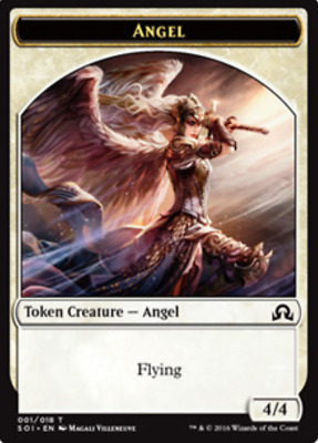 NM-Mint C MTG X4: Devil Token FREE US SHIPPING! Shadows over Innistrad