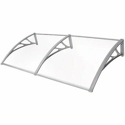 Door Canopy Awning Shelter Roof Front Back Porch Shade Patio White