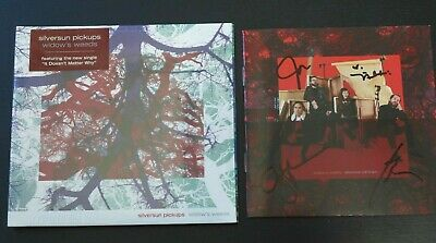 "Silversun Pickups-Autographed ""Widow's Weeds"" Signed Booklet &New Sealed Cd 2019"
