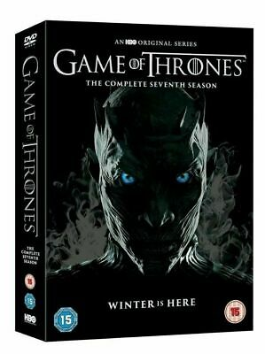 Game of Thrones Season 7 DVD Box Set Brand New Sealed + Conquest & Rebellion