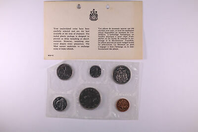 1968 Royal Canadian Mint 6 Coin Proof-Like Mint Set Beautiful 6-Coin Unc Set!