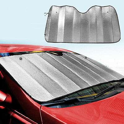 1Pc Foldable Car Windshield Visor Cover Front Rear Block Window Sun Shade  Code