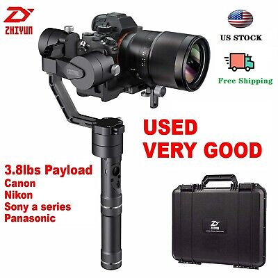 Used Zhiyun Crane V2 3-Axis Handheld Stabilizer Gimbal for DSLR Mirrorless