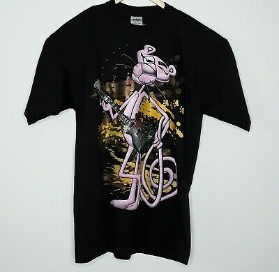 Shaka Wear Mens T Shirt The Pink Panther Gibson Guitar Graphic Size 2XL Tall