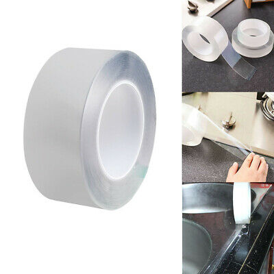 Home Transparent Double Sided Adhesive Tape No Traces Nano Gel Waterproof