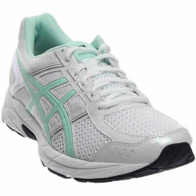 NEW ASICS WOMEN'S Gel Contend 4 WHITEBAYSILVER T765N O187