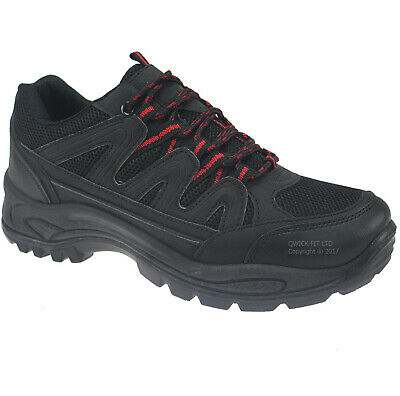 Mens Quality Outdoor Hiking Boots Walking Ankle Trail Trekking Trainers Shoes Sz