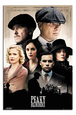 Peaky Blinders Official Cast Poster New - Maxi Size 36 x 24 Inch
