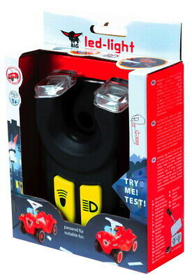 BIG Outdoor Spielzeug Licht + Hupe Bobby Car LED Light + Horn schwarz 800056468