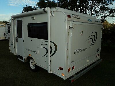 2005 JAYCO EXPANDA 12ft LONG,VERY NICE VAN,CAN NOT REGO,POPTOP CARAVAN