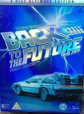 Back To The Future Trilogy (DVD, 2005)