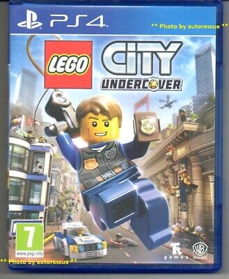 LEGO City Undercover  'New & Sealed'  *PS4(Four)*
