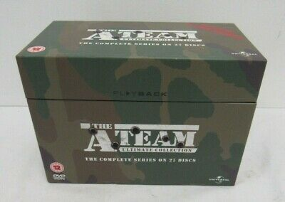 The A-Team Ultimate Collection (DVD / 27-Disc Set) - BAR L52
