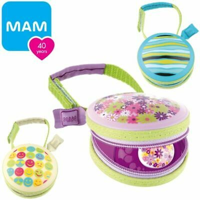 MAM Soother Pod Baby Dummy Protective Travel Case Clean Pacifier Pouch BPA FREE