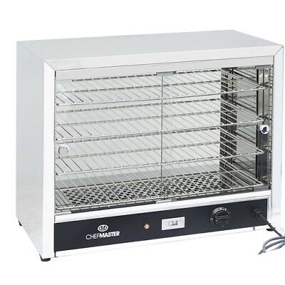 Chefmaster Small Heated Pie Cabinet -  HEC823  Catering Warmer Cafe