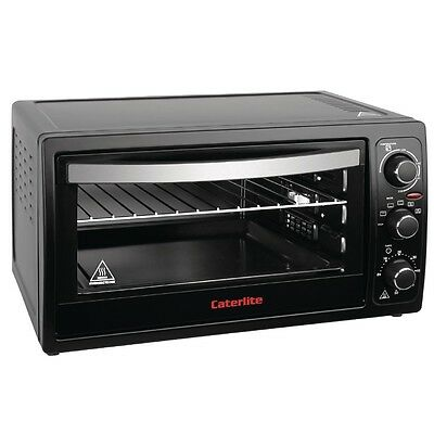 Caterlite Mini Oven with Rotisserie function - 38Ltr - CM272 Catering