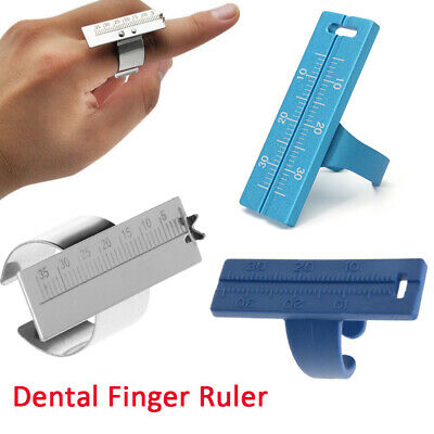New Dentist Dental Finger Ruler Useful Surgical Instrument Endodontic Gauge