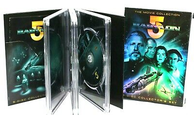 Babylon 5: Complete MOVIES (DVD, 5-Disc Set) 1-5