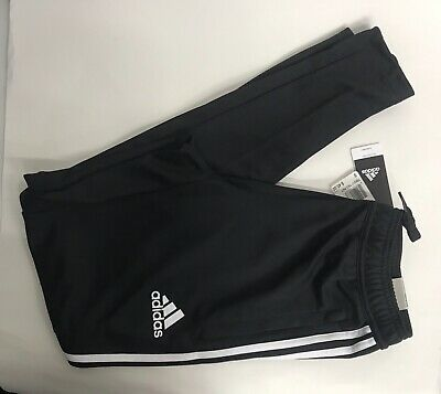 Nwt Mens Size S Adidas Tiro 17 Training Climacool Soccer Pants Black Bs3693