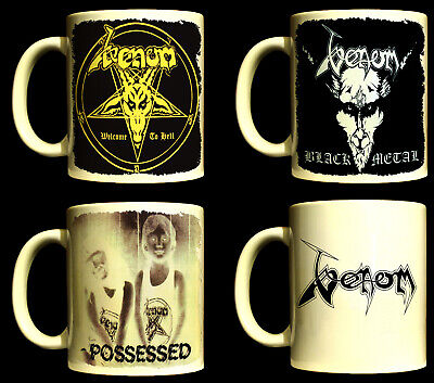 VENOM Coffee Mugs (Welcome to Hell - Black Metal - At War with Satan -Possessed)