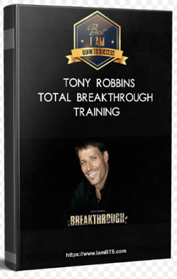 ⚡️[3 COURSES] Tony Robbins-Total Breakthrough Training+Knowledge Business .. 🔥