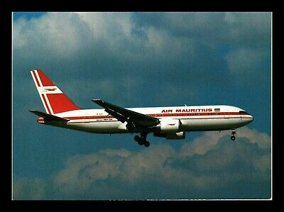 Dr Jim Stamps Air Mauritius Airplane Transportation Continental Size Postcard