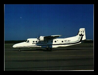 Dr Jim Stamps Holmstrom Air Airplane Transportation Continental Size Postcard