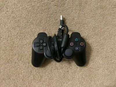 Official OEM Sony Playstation 3 Dualshock Controller - Black, Wireless