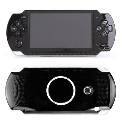 AU 8G HD 4.3 inch PSP Handheld Game Console Player 10000 Game Mp4 + Cam Portable