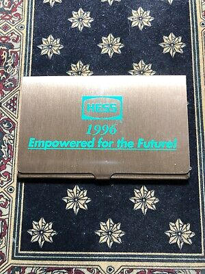 1996 Hess Business Card Case