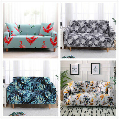 Elastic Stretch Fabric Slipcover Sofa Sectional Furniture Cover Protector Couch