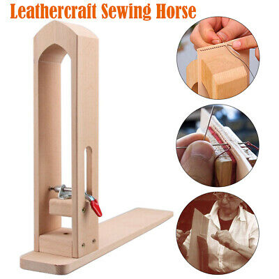Leathercraft Lacing Pony Sewing Horse Vice Clamp Tools for Leather Stitching New