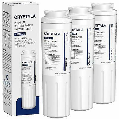1-3 Fridge Water Filter 4 AMANA/MAYTAG UKF8001,WHIRLPOOL/EVERYDROP EDR4RXD1,WF50