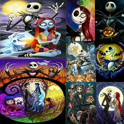 The Nightmare Before Christmas 5D Diamond Painting Embroidery Cross Stitch BJ